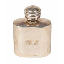 Princess Diana Personally-Owned and -Used Sterling Silver Perfume Bottle
