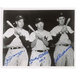 Mantle, DiMaggio, and Williams
