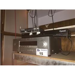 CONTENTS OF BACK OFFICE INCLUDES: STEREO EQUIPMENT, SURVEILLANCE MONITOR AND TWO CAMERAS