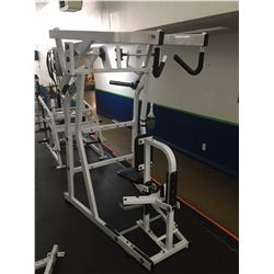 HAMMER STRENGTH COMMERCIAL BACK / SHOULDER FREE WEIGHT MACHINE
