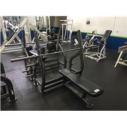 BENCH PRESS STATION WITH 45LB. BAR