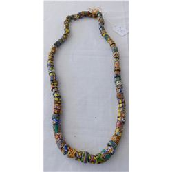 Millefiori Trade Bead Necklace
