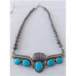 Sterling Silver & Turquoise Choker