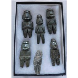 Cache of 6 Mezcala Figures