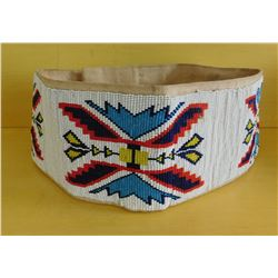 Paiute Loom-Beaded Belt