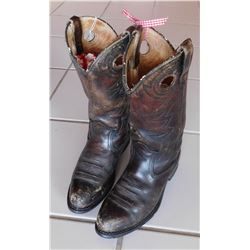 Old Pair of Cowboy Boots