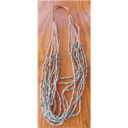 8 Strand Heishi Necklace