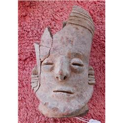 Pre-Columbian Ceramic Head