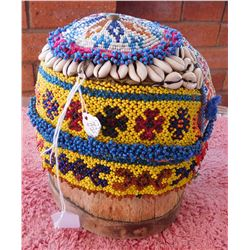Afghan Wedding Hat on Stand