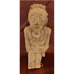 Double Effigy Stone Female Figure