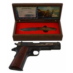 Battleship USS Texas Commemorative Colt 1911 .45