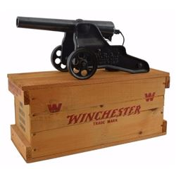 Winchester 10 Gauge Cannon In Original Wood Crate