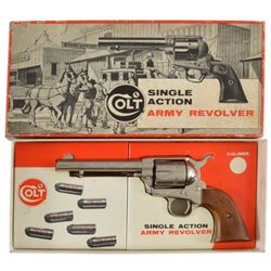Colt SAA .357 Nickeled Revolver 2nd Gen New In Box