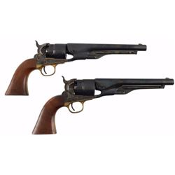 Cased Pair of Colt 1860 Army Revolvers US Cavalry