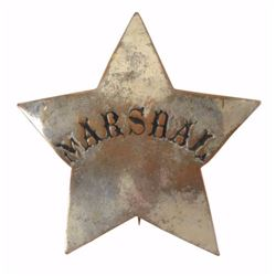 Early Marshall's Badge