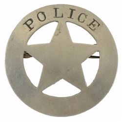 Early 20th Century Police Badge