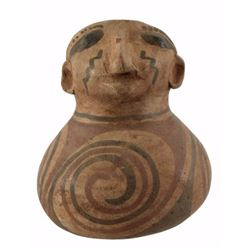 Decorative Effigy Pot