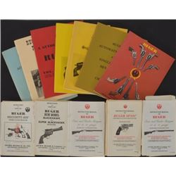 Ruger Books & Pamphlets and Pachmayr Range Box