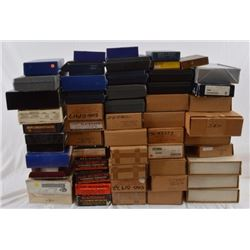 Assorted Ruger, Smith & Wesson, & Colt Boxes
