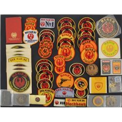 Ruger Firearms Patches, Buckles, & Advertising