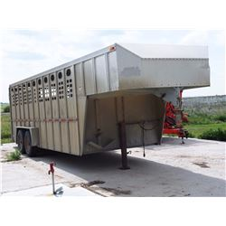 1994 Silver Star 20 Ft Livestock Trailer