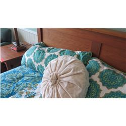 Queen Comforter and Pillows