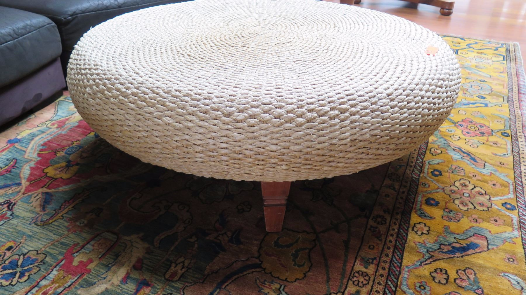 ... Image 3 : Coffee Table   Woven Water Hyacinth, U201cAsia Tidesu201d, Roche ...
