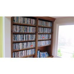 Huge Collection of DVD Movies - In Movie Library