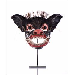 Ida Bagus Alit, Wild Boar Mask Made With Real Boar