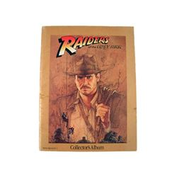 Raiders Of The Lost Ark 1981 Kathleen Kennedy Signed Collectors Album Movie Collectibles