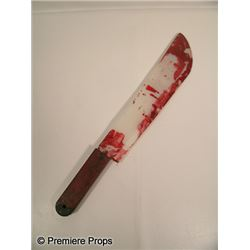 Scream 4 Bloody Machete Movie Props