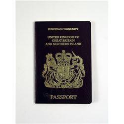 Mortdecai (Johnny Depp) Passport Movie Props