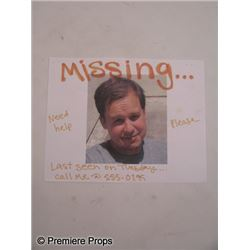 Seeking a Friend for the End of the World Missing Poster Movie Props