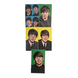 Beatles Set of 5 Litho Postcards 1964