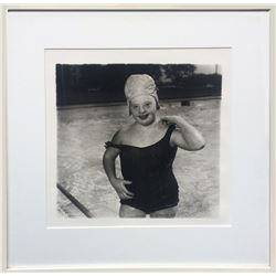 Diane Arbus, Untitled - Girl in Swimming Cap (11), Photograph