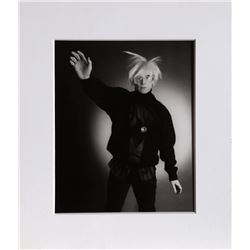Christopher Makos, Andy Warhol Posing, Photograph