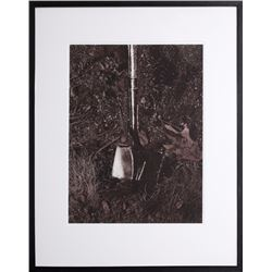 Vik Muniz, Groundbreaking (Shovel), Iris Inkjet Print