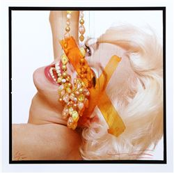 Bert Stern, Marilyn Monroe: The Last Sitting Portfolio 4, Color Photograph