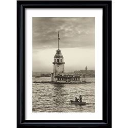 Ugur Varli, Maiden's Tower in Istanbul, Photograph Print