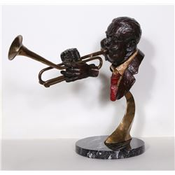Ed Dwight, Dizzy Gillespie, Bronze Sculpture