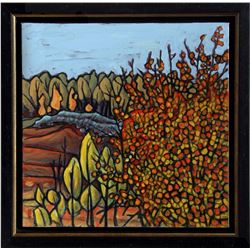 Robert Zeer, Fall Splendor, Oil Painting