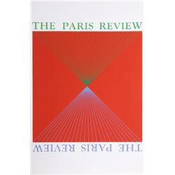 Richard Anuszkiewicz, Untitled for the Paris Review, Lithograph