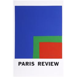 Ellsworth Kelly, Paris Review, Lithograph
