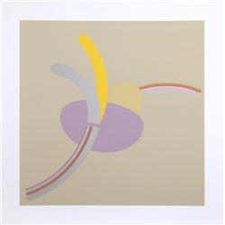 Doug Purcell, Flower is a Lonesome Thing, Silkscreen