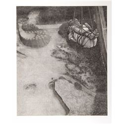 David Becker, Last Day, Etching