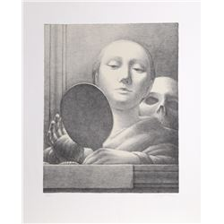 George Tooker, Vanity (Mirror), Lithograph