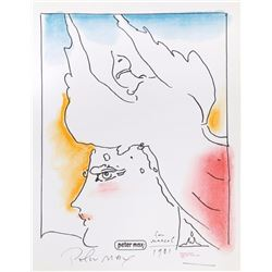 Peter Max, Phoenix Bird, Lithograph