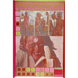Eduardo Paolozzi, Early Mental Traits of 300 Geniuses II, Photolithograph