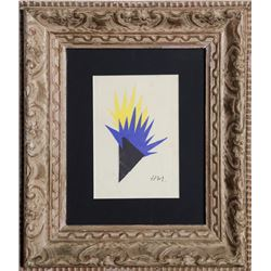 Henri Matisse, Torch of Hope, Etching