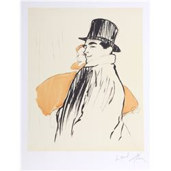 Rene Gruau, Couple, Lithograph  to Marcel